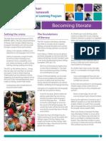 EYLFPLP E-Newsletter No18 Literacy