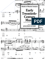 Early Twentieth Century Music