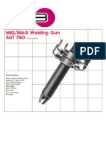AUT 750 Welding Torch
