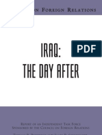 CFR - Iraq DayAfter TF