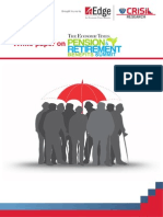 White Paper on Pension