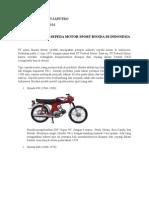 Perkembangan Sepeda Motor Sport Honda Di Indonesia