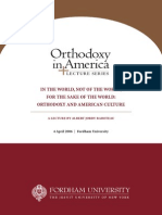 Raboteau Orthodoxy 2006 Lecture Book