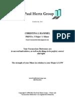 print report for christina l hammel