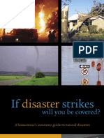 Homeowner's Insurance Guide to Natural Disasters