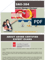 Pass4sure 9A0-384 Adobe Exam Braindumps