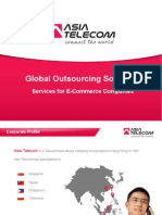 Global Outsourcing Services Provided by Asiatel