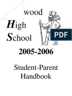 Kirkwood High School Student Handbook