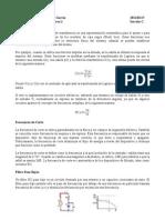 Funciones de transferencia y filtros