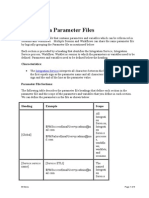 Informatica Parameter Files