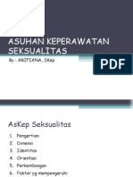 ASKEP  SEKSUALITAS