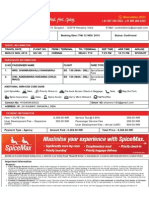 SpiceJet_E-ticket_PNR J2CT7Y - 23 Nov 2015 Chennai-Delhi for MRS. KANAGARAJ