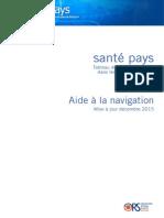 Santé Pays Guide Utilisation Décembre 2015