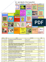 2010 MOYC Calendar and Events