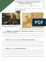 A.3 Teste Diagnóstico - 1820 e o Liberalismo (1)