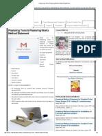 Plastering Tools & Plastering Works Method Statement.pdf