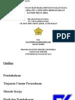 Seminar Kp Estimasi cadangan batubara