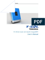 T-SOL TEM3000 User Manual