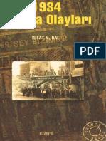 Rıfat N Bali - 1934 Trakya Olayları