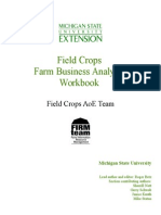 Field Crops Business Analysis Handbook Final