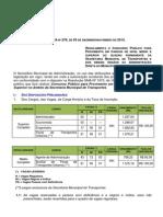 Edital SMTR-Rio 2015 - 141 Vagas Para 2º e 3º Graus
