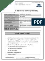 IRO-On-015-Report on Industry Input-Dr Riktesh Srivastava