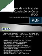 As Etapas de Um TCC PDF