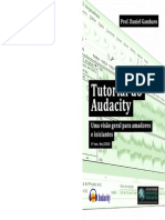 tutorial do audacity - Audio software