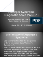 PS 571 Asperger Syndrome Diagnostic Scale PowerPoint