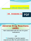 Adverse drug reactions