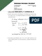 Calculo Mercantil y Comercial