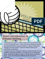 Volleyball - Sports Program