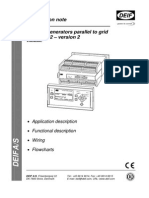 Application Notes, (3) Multiple Generator Parallel to Grid, 4189340364 UK