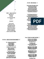 2015 Bike Carols Lyrics