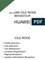 WCDMA Idle Mode Behaviour Huawei