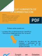 exposición guía 6 Enfoque Humanista de la Administración