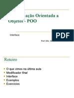 POO_Modificador Final e Interface