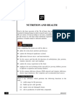 Nutrition and Health biology