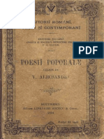 Poesii Poporale v Aslecsandri