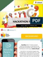 Hackathon IWIC 9