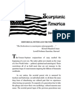 Scorpionic America Historical Myths and Truths