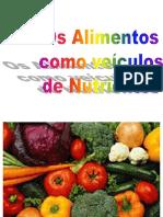 1 Os alimentos como veículos de nutrientes