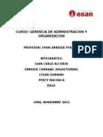 Administración y Organización ESAN