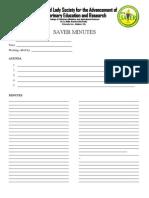 Saver Minutes