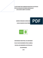 5. Herramienta Software Para Generar Registros Electricos Sinteticos Basados en Redes Neuronales. Aplicacion Campo Colorado (2010)