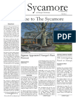 The Sycamore Issue 1