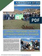 Día Mundial Del Medio Ambiente en Huarón - Eusterio Huerta León