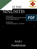 Referat SINUSITIS THT - Presentasi