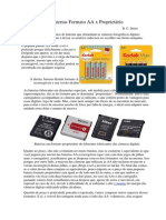 Baterias Formato AA x Proprietário
