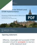 Pioneering STEM Education in Africa